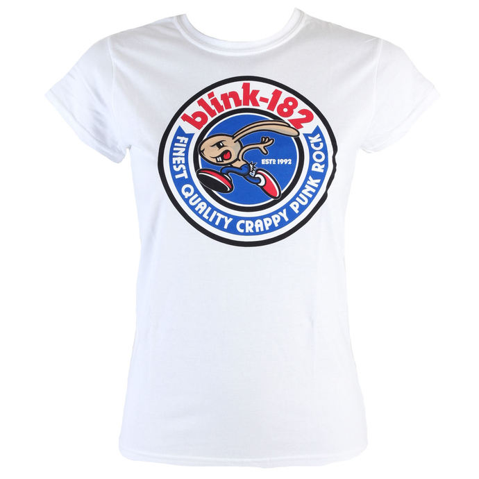 t-shirt metal women's Blink 182 - Bunny Seal - LIVE NATION