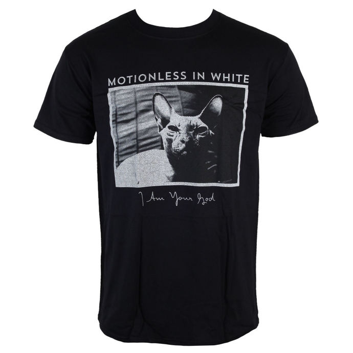 t-shirt metal men's Motionless in White - Cat - LIVE NATION