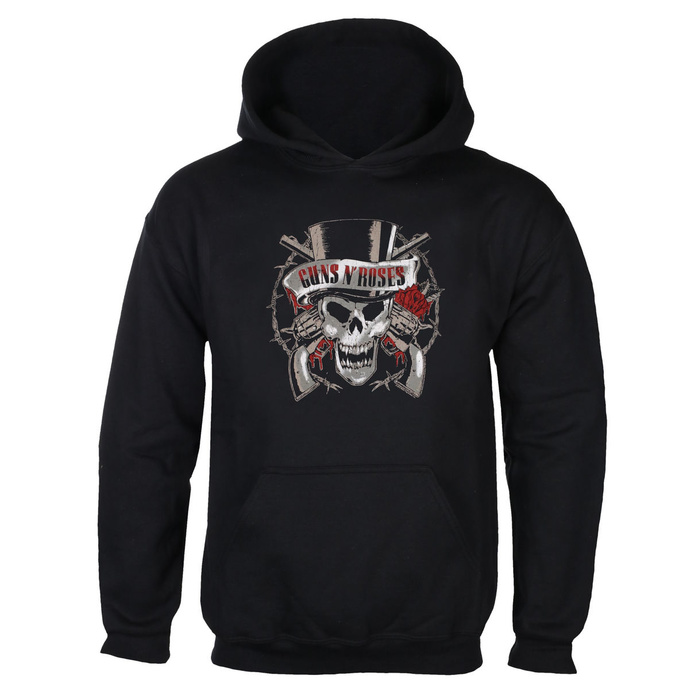 hoodie men's Guns N' Roses - Distress Tophat - BRAVADO EU