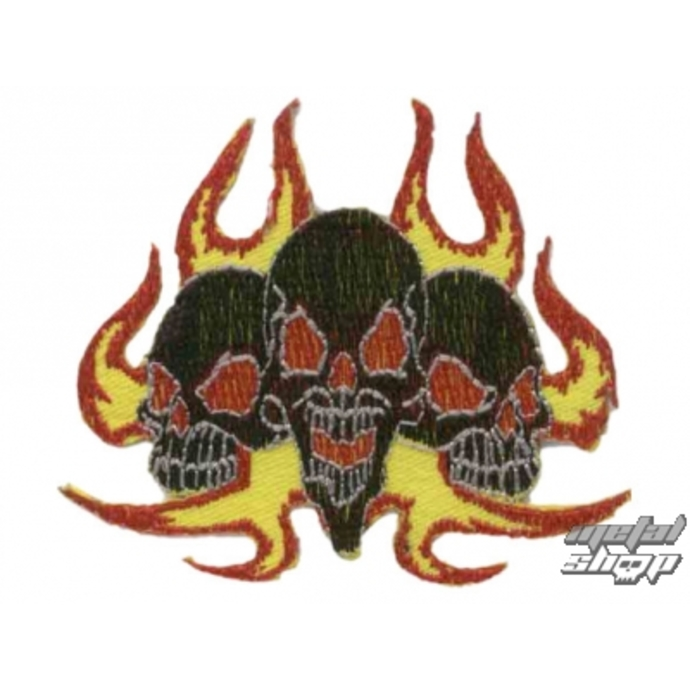 iron-on patch Skull 14