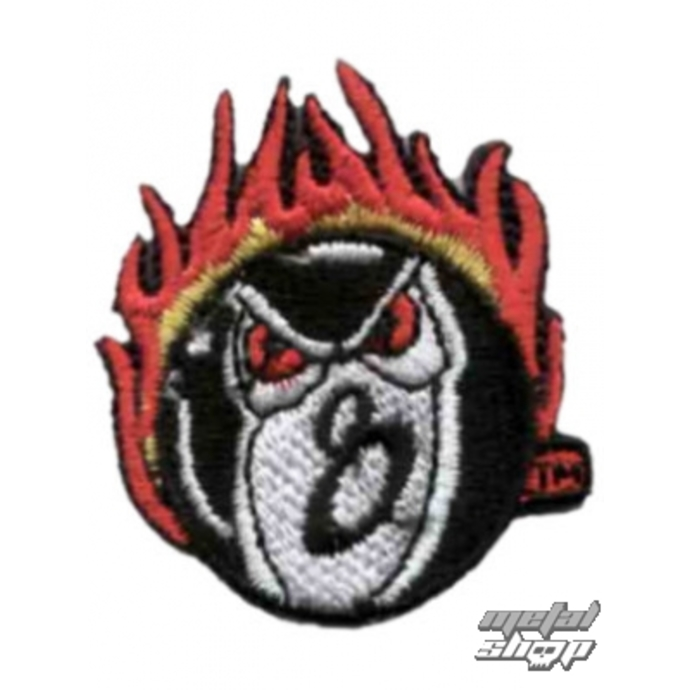 iron-on patch Flames 8