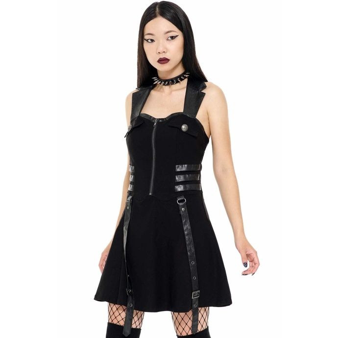 Women's dress KILLSTAR - Psy-Ops - BLACK