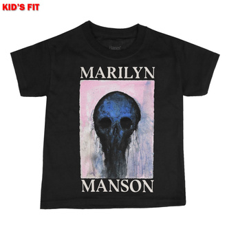 Children's t-shirt Marilyn Manson - Halloween Painted Hollywood - ROCK OFF, ROCK OFF, Marilyn Manson