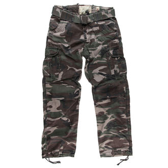 pants men SURPLUS - PREMIUM VINTAGE TR. - WOODLAND - 05-3597-62