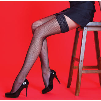 tights LEGWEAR - Scarlet - Fishnet LT Whoops - SHSCFH2BL1
