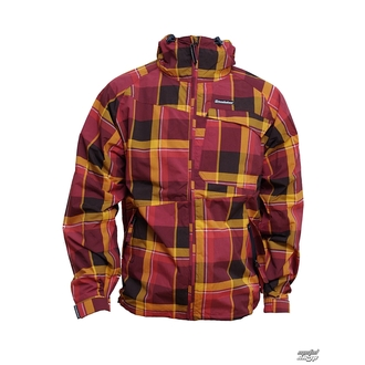 spring/fall jacket men's - Linear - HORSEFEATHERS - Linear - Ruby CHECK