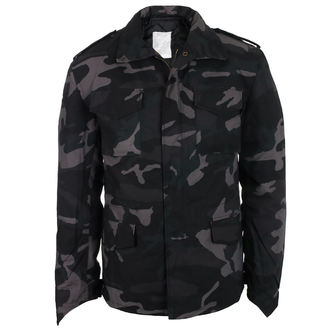 winter men´s jacket SURPLUS - M 65 - Black Camo - 20-3501-42