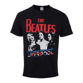 t-shirt metal men's Beatles - Liverpool - AMPLIFIED, AMPLIFIED, Beatles