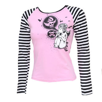 t-shirt women long sleeve Skull 2 - ZAKR, NOIZZ