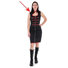 Women's dress DR FAUST - Armee - DAMAGED, DOCTOR FAUST