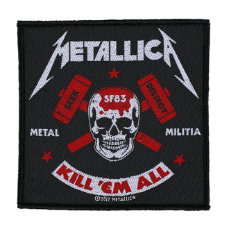 patch METALLICA - METAL MILITIA - RAZAMATAZ - SP2935