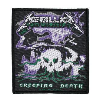 patch METALLICA - CREEPING DEATH - RAZAMATAZ, RAZAMATAZ, Metallica