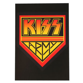 Postcard KISS - ARMY LOGO - ROCK OFF - KISSPC05
