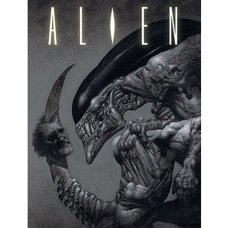 Painting Alien - Head on tail - PYRAMID POSTERS, PYRAMID POSTERS, Alien