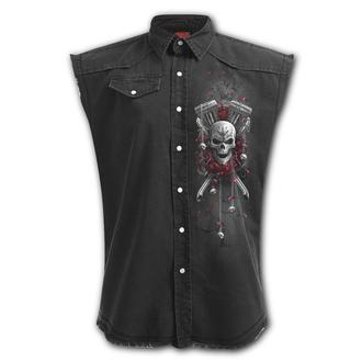 Men's sleeveless shirt/ vest SPIRAL - DOTD BIKERS, SPIRAL
