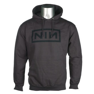 hoodie men's Nine Inch Nails - CLASSIC BLACK LOGO - PLASTIC HEAD, PLASTIC HEAD, Nine Inch Nails