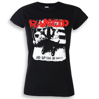 t-shirt metal women's Rancid - And Out Come The Wolves - KINGS ROAD - 20105229