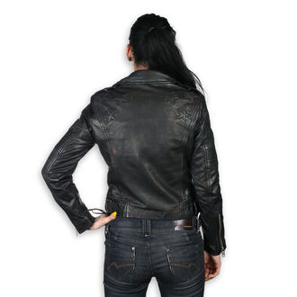 Women´s biker jacket MAURITIUS - WONDER WOMAN - LAMEV MET/BLK, NNM, Wonder Woman