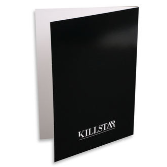 Wish card KILLSTAR - Taurus - BLACK, KILLSTAR