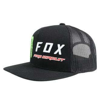 Cap FOX - Monster - Black, FOX