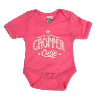 Children's bodysuit WEST COAST CHOPPERS - ONESIE CHOPPER CUTIE BABY CREEPER - Rose, West Coast Choppers