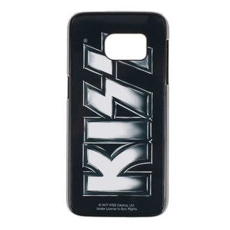 Cell phone cover (Samsung 7) Kiss - Logo - HYBRIS - ER-80-KISS8002-SUB-S7