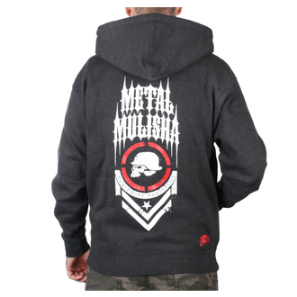 hoodie men's - SPINE ZIP UP - METAL MULISHA, METAL MULISHA