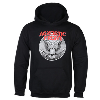 hoodie men's Agnostic Front - AGAINST ALL EAGLE - PLASTIC HEAD, PLASTIC HEAD, Agnostic Front