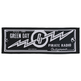 Patch Green Day - Pirate Radio - RAZAMATAZ, RAZAMATAZ, Green Day