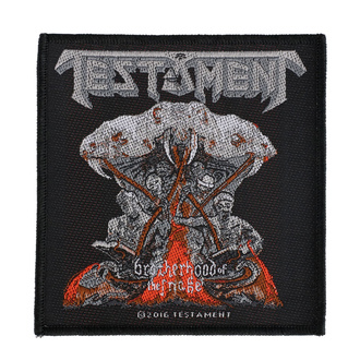 Patch Testament - Brotherhood Of The Snake - RAZAMATAZ, RAZAMATAZ, Testament