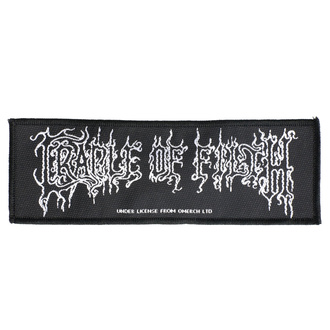 Patch Cradle Of Filth - Logo - RAZAMATAZ, RAZAMATAZ, Cradle of Filth