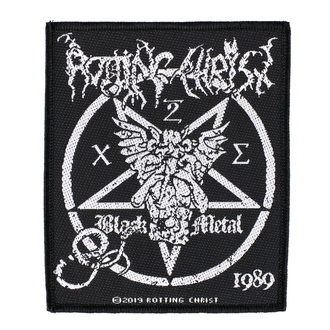 Patch Rotting Christ - Black Metal - RAZAMATAZ, RAZAMATAZ, Rotting Christ