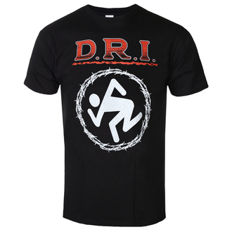 t-shirt metal men's D.R.I. - BARBED WIRE - PLASTIC HEAD - PH11313