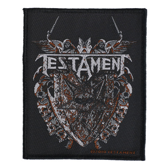 Patch Testament - Shield - RAZAMATAZ, RAZAMATAZ, Testament