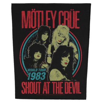 Large patch Mötley Crüe - Shout At The Devil - RAZAMATAZ, RAZAMATAZ, Mötley Crüe