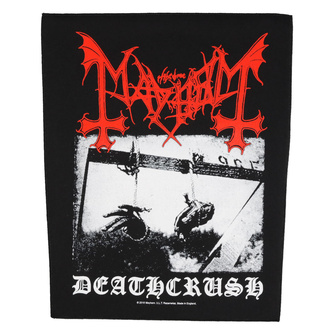 Large patch Mayhem - Deathcrush - RAZAMATAZ, RAZAMATAZ, Mayhem