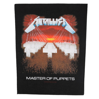 Large patch Metallica - Master Of Puppets - RAZAMATAZ, RAZAMATAZ, Metallica