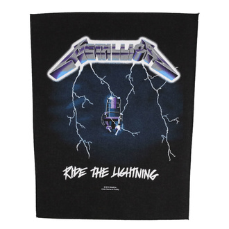 Large patch Metallica - Ride The Lightning - RAZAMATAZ, RAZAMATAZ, Metallica
