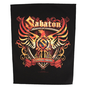 Large patch Sabaton - Coat Of Arms - RAZAMATAZ, RAZAMATAZ, Sabaton