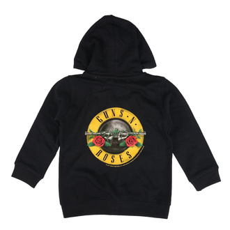 hoodie children's Guns 'n Roses - (Bullet) - Metal-Kids, Metal-Kids