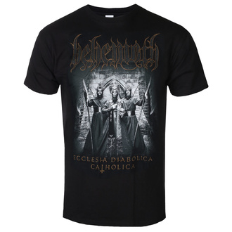 t-shirt metal men's Behemoth - Catholica - KINGS ROAD - 20132885