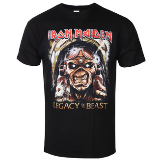 t-shirt metal men's Iron Maiden - Legacy - ROCK OFF, ROCK OFF, Iron Maiden