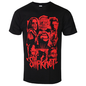 t-shirt metal men's Slipknot - WANYK Red - ROCK OFF, ROCK OFF, Slipknot