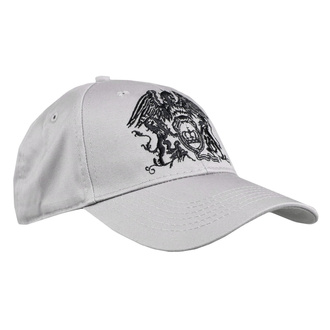 Cap Queen - Black Classic - GREY - ROCK OFF, ROCK OFF, Queen