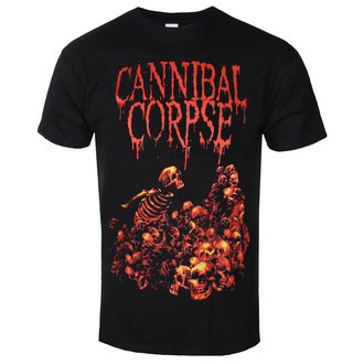 t-shirt metal men's Cannibal Corpse - PILE OF SKULLS - PLASTIC HEAD, PLASTIC HEAD, Cannibal Corpse