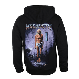 hoodie men's Megadeth - COUNTDOWN TO EXTINCTION - PLASTIC HEAD - RTMGD052