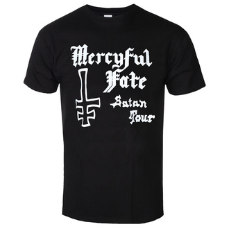 t-shirt metal men's Mercyful Fate - SATAN TOUR 1982 - PLASTIC HEAD, PLASTIC HEAD, Mercyful Fate