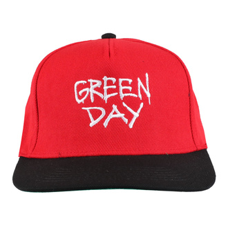 Cap GREEN DAY - RADIO HAT - PLASTIC HEAD, PLASTIC HEAD, Green Day