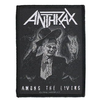 Patch Anthrax - Among The Living - RAZAMATAZ, RAZAMATAZ, Anthrax