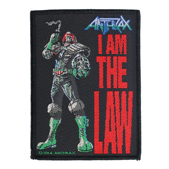 Patch Anthrax - I Am The Law - RAZAMATAZ, RAZAMATAZ, Anthrax